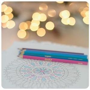 mandala-color-pencils