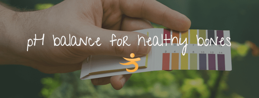 pH balance for healthy bones